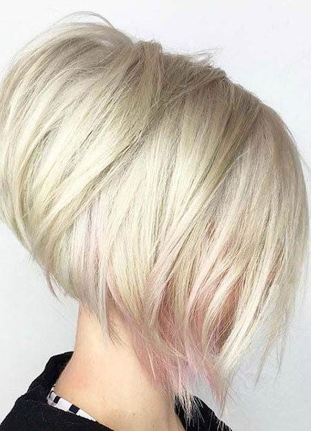 Short Fine Choppy Blonde