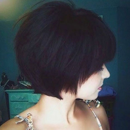 Bob Hair Pixie Thick