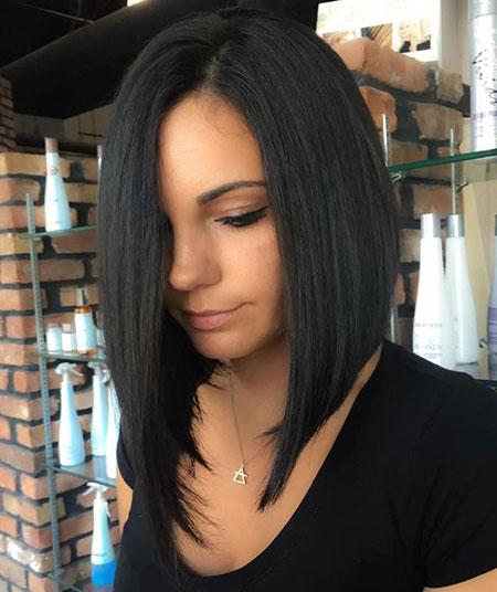 Hair Styles Lob Asymmetrical
