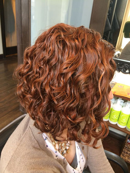 Curly Bob Hair Inverted