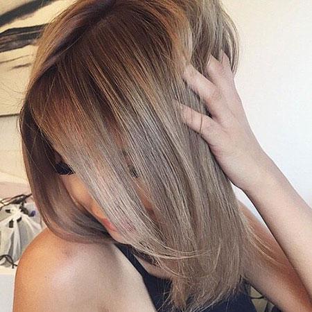 Dark Blonde Bob, Hair Blonde Brown Color