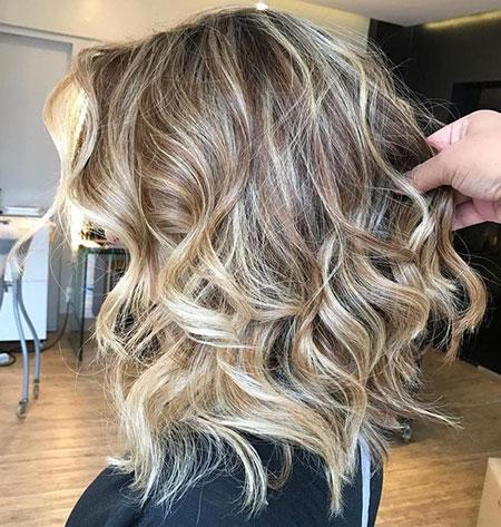 Hair Blonde Balayage Long