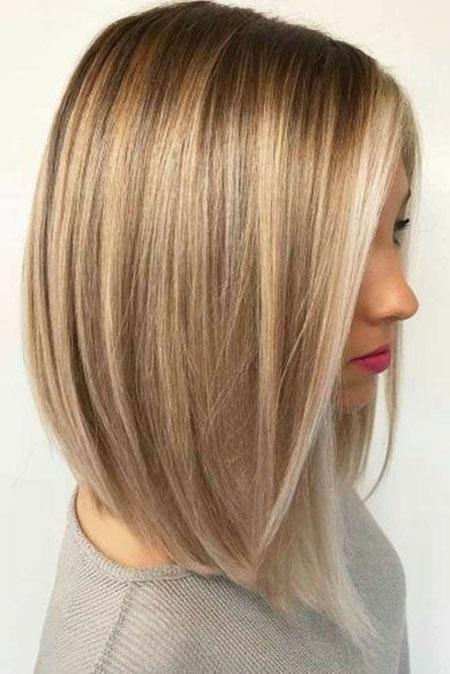 Blonde Bob Thin Hair
