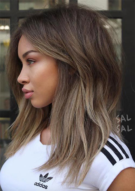 Hair Balayage Women Medium