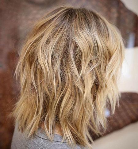 Haarspange mittlerer Länge
