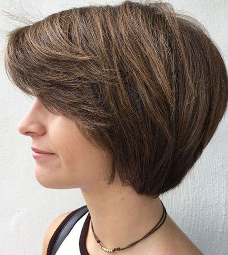 Bob Short Thick Layered