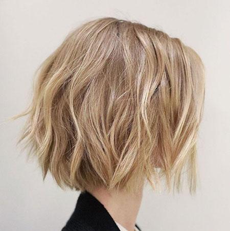 Choppy Cut, Bob Choppy Bronde Blonde