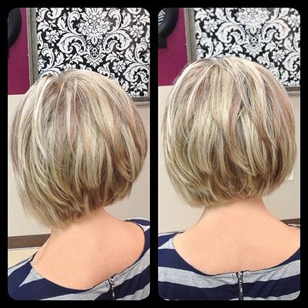 Back View, Bob Short Hairtyles Bobs