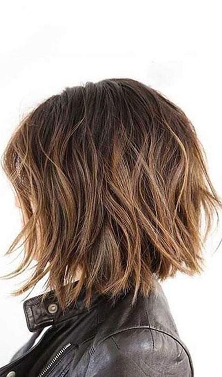 Hair Short Choppy Wavy