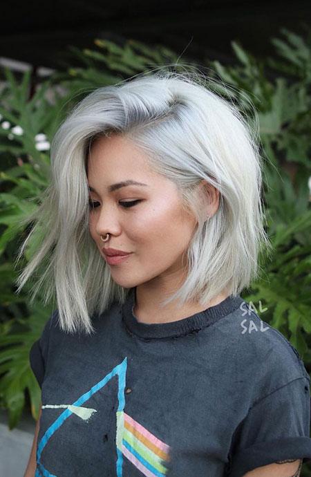 Blonde Hair Short Platinum