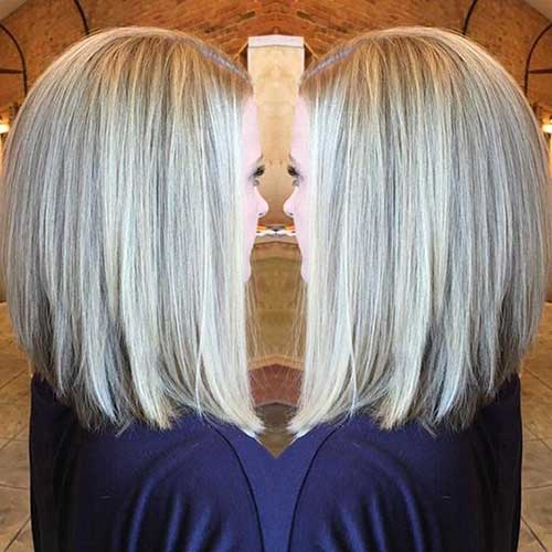 Long Inverted Bob Hair