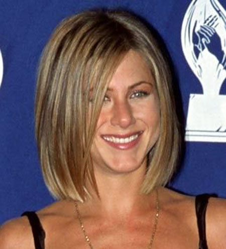 Jennifer Aniston Bob Haircut, Jennifer Hair Bob Length