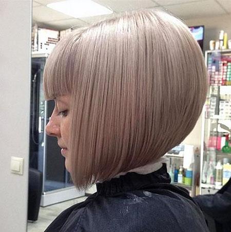 Bob Blonde Inverted Hairtyles