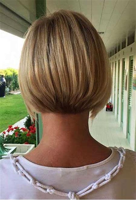 Bob Balayage Short Blonde