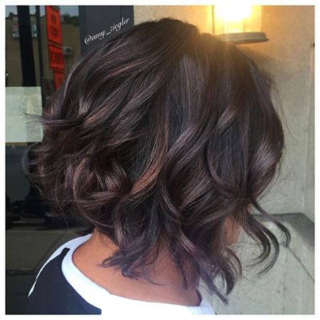Balayage Hair Bob Brown