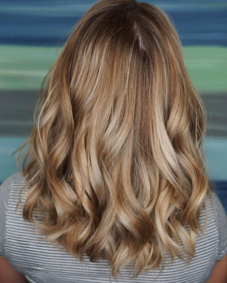 Blonde Hair Color Balayage