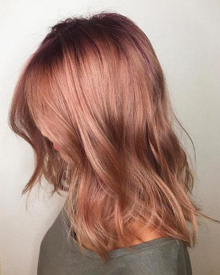 Blondes Haar Bob Long