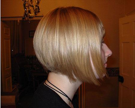 Bob Blonde Hairtyles Side