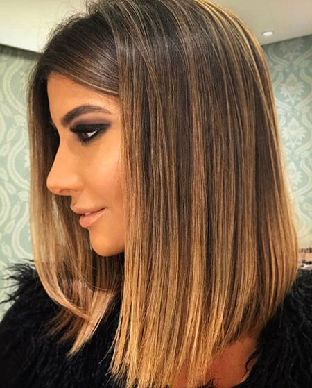 Haarbalayage für kurze Haare