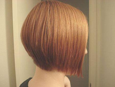 Bob Hair Back Color
