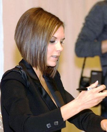Victoria Beckham Bob, Bob Hair Graduated Hairtyles