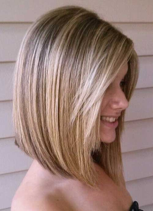 Medium Angled Blondie Bobs