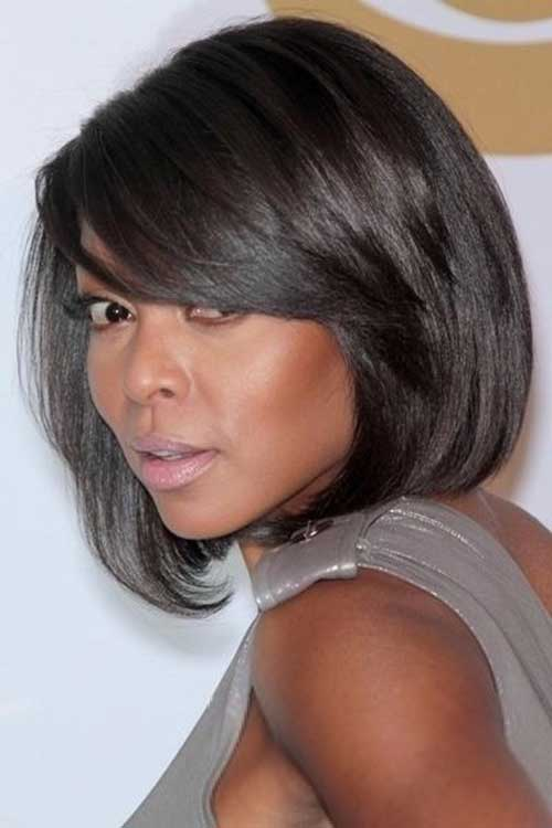 Black Girl Straight Bobs Hairstyles 2014-2015