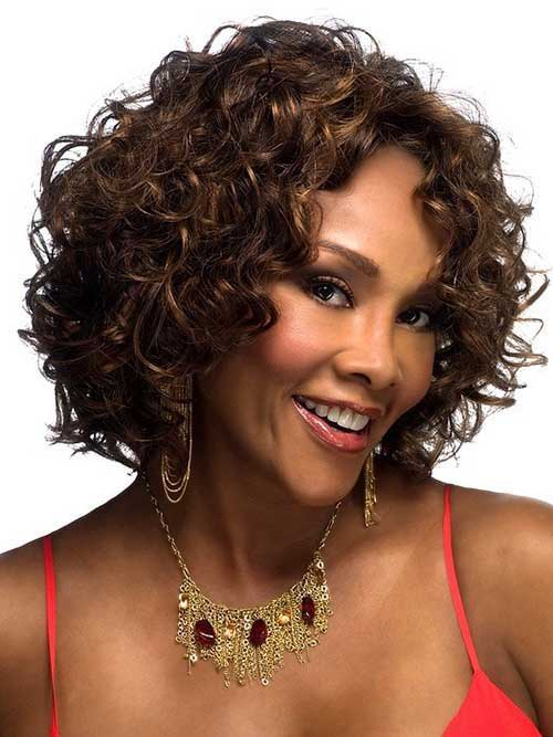 Black Girls Curly Bob Hairstyles 2014