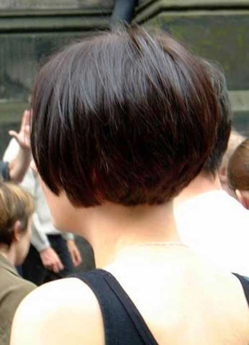 Short Back Bobbed Hairstyles