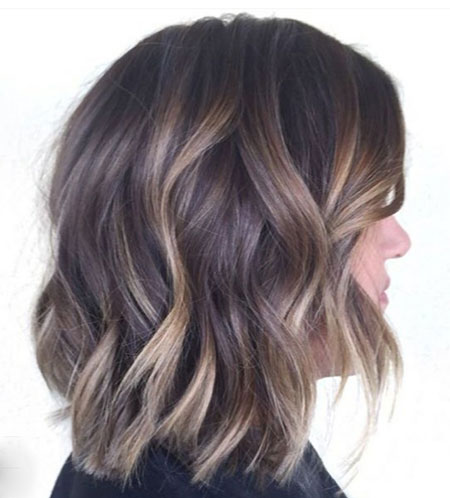Layered Wavy Bob Hairstyles