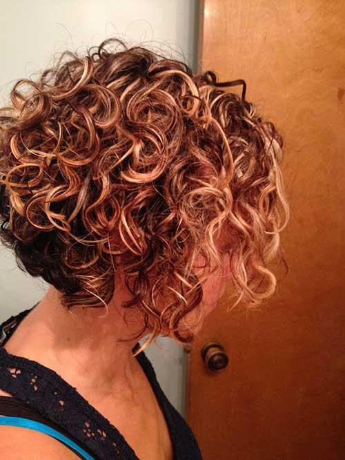 Curly Bob Hair