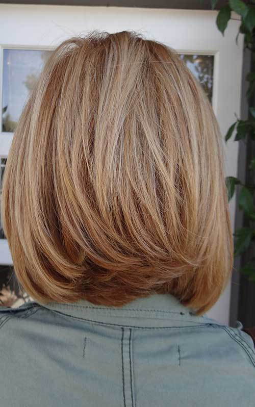 Graduated Bobs Natural Type