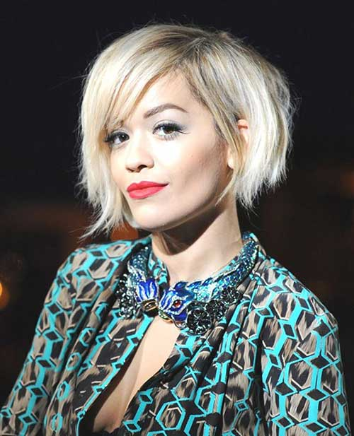 Rita Ora Haircut