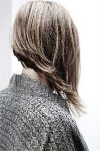 Long Asymmetrical Bob Hairstyle
