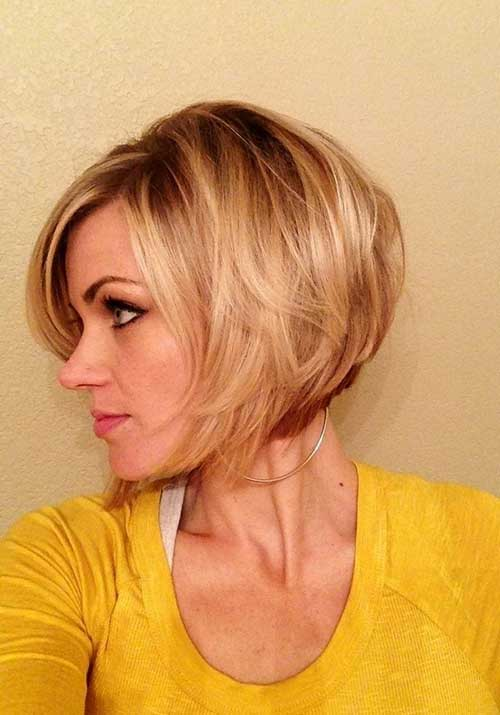 Chic Stacked Bob Haircuts