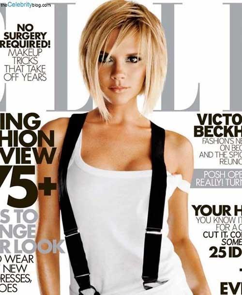 Victoria Beckham's Bob Cut