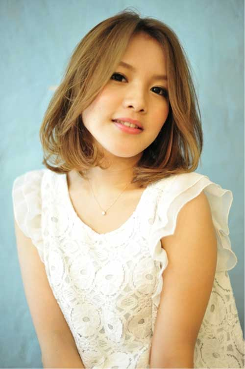 Ash Blonde Bob for Chinese Women Hairstyles 2015