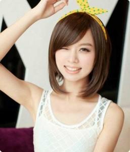 Asian Short Bob Hairstyle