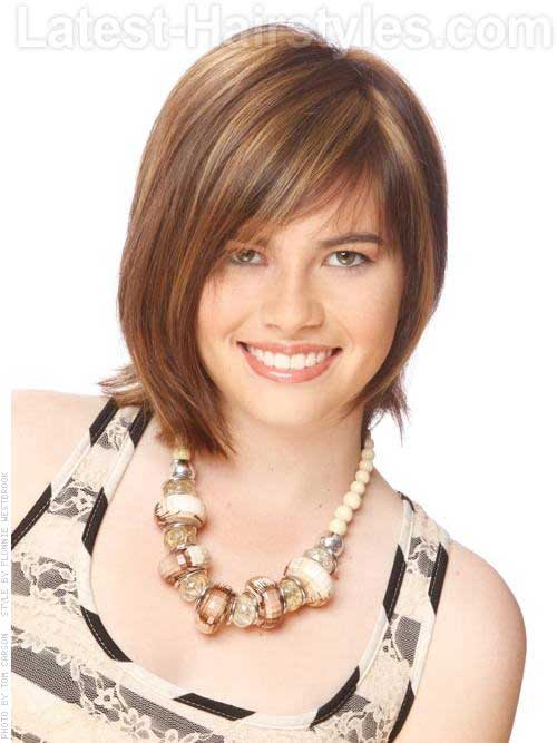 Chic Asymmetrical Medium Haircut