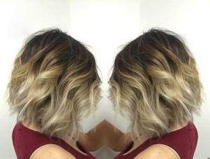 Best Balyage Ombre Short Hair