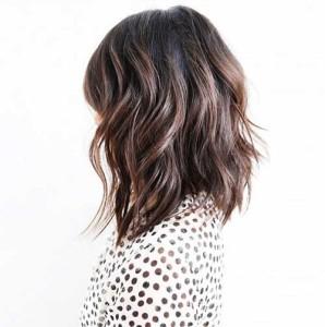 Balyage Shoulder Length Hairstyles