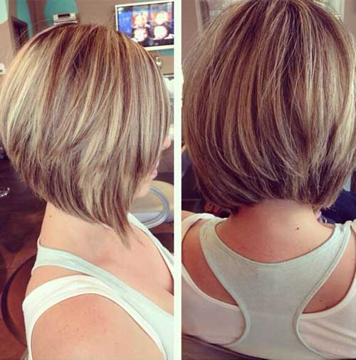 Graduated Bob Layered Hairstyles