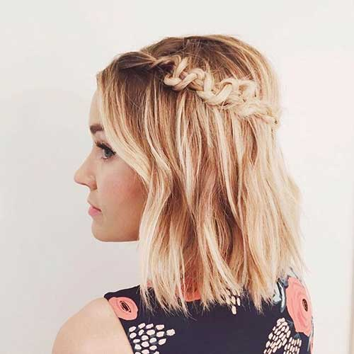 Lauren Conrad Braided Bob