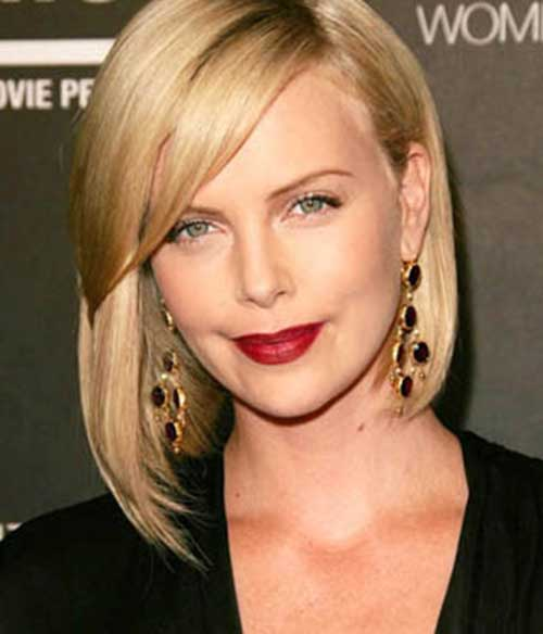 Charlize Theron Bob Hair