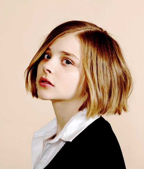 Best Cropped Bob Haircut for Girls 2015