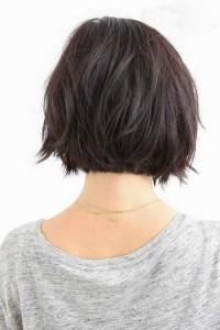 Dark Short Hairstyles for 2015