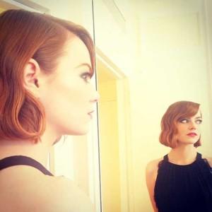 Emma Stone Bob Hairstyles 2015