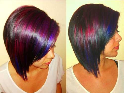 Funky Bobs Hairstyles