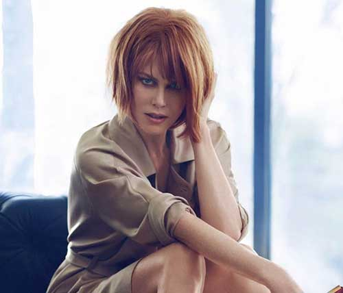 Ginger Colored Bob Hairstyles