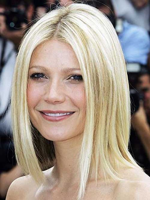 Gwyneth Paltrow Fine Bob Hair